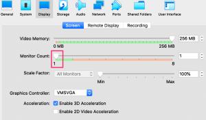 VirtualBoxでVMの動作が軽くなるようにチューニング5