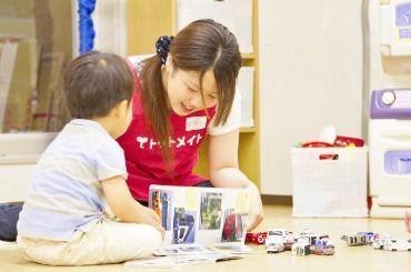 ★☆豊橋市レジャー施設内託児所で勤務♪外出はなくお部屋でゆっくり子どもと遊べます☆★