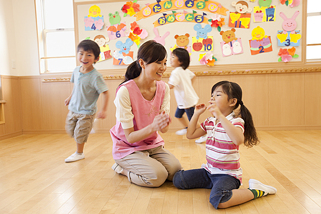 【オープニング園!!】西淀川区◆正社員◆新しくて綺麗な園でのびのびと働きませんか?