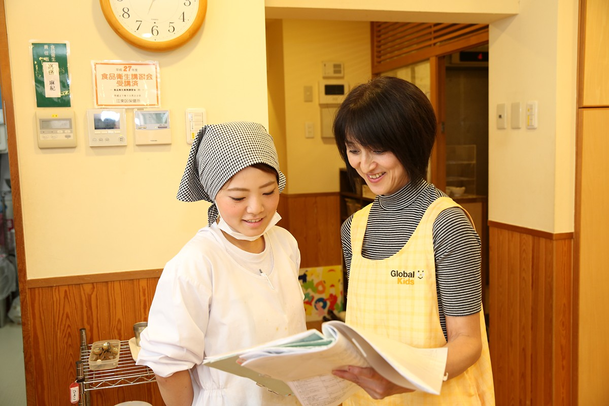 【即日入社の方歓迎!!】保育園の調理のお仕事です♪