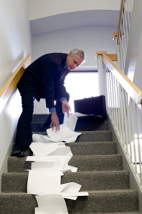 階段の昇り降りが億劫…