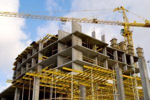 立ち退きのためのビルを建てる(イメージ写真)