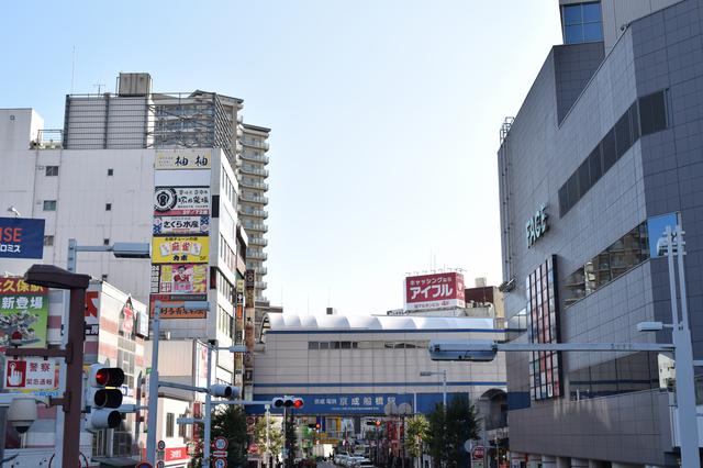 船橋駅周辺