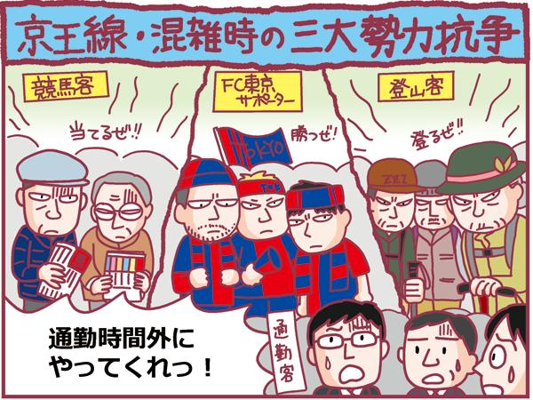 京王線運行状況