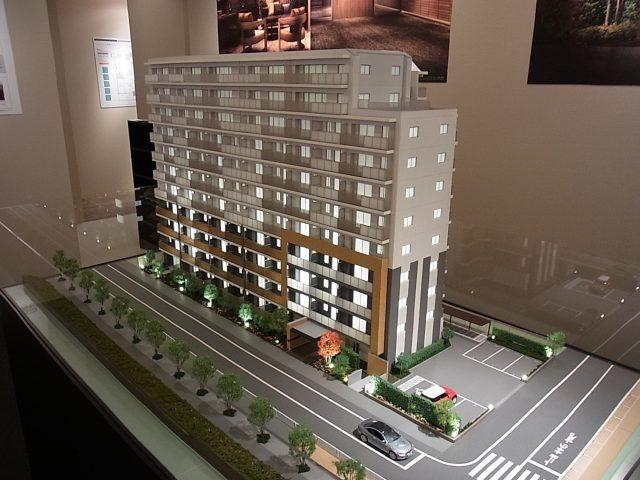 リビオレゾン東陽町ステーションプレミアの模型