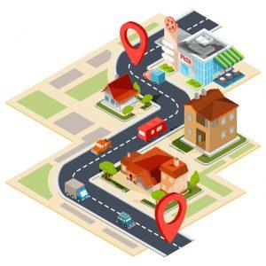 候補の物件や周辺環境を地図にまとめよう