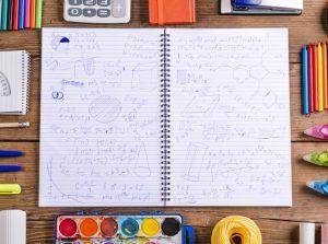 爆速板書でノートは乱雑に