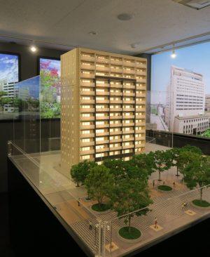 クレアホームズ千葉センタークロスの模型