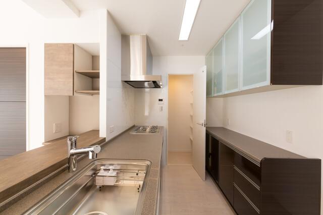 I型キッチンのイメージ