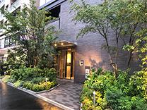 コンシェリア東京IRIYA STATION FRNTの外観