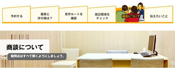 新築マンションのモデルルーム見学:商談について