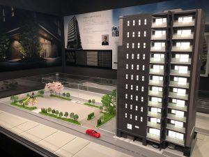 グレーシア千代田秋葉原の建物模型