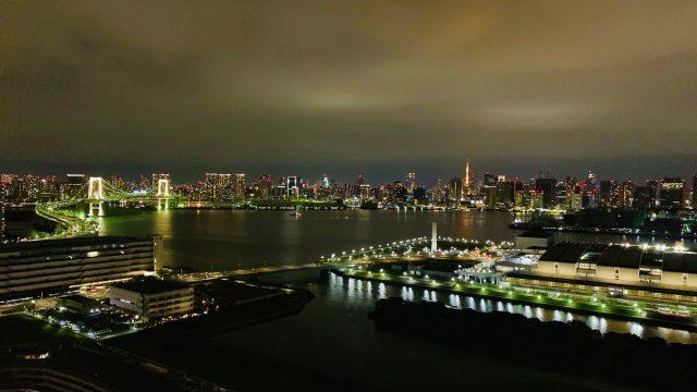 ブリリアマーレ有明から東京を見る眺望