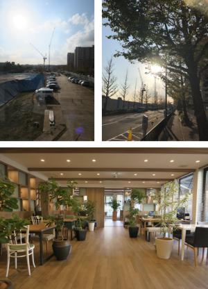 ②パークホームズ横浜本郷台リバーサイドヴィラの周辺環境とモデルルーム