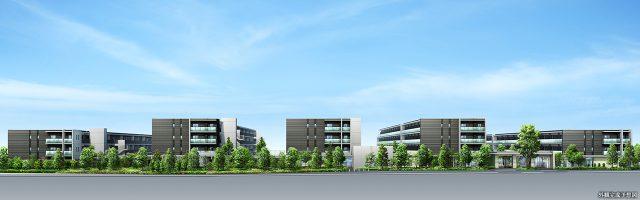 ⑨ガーデンハウス越谷レイクタウンの外観画像