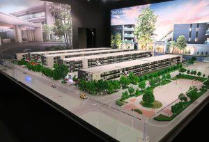 ⑧ガーデンハウス越谷レイクタウンの模型
