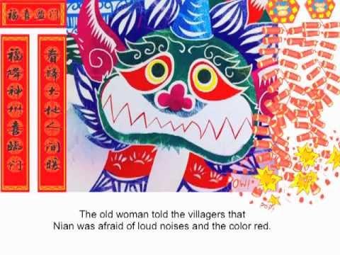 用英文說中國年的故事
