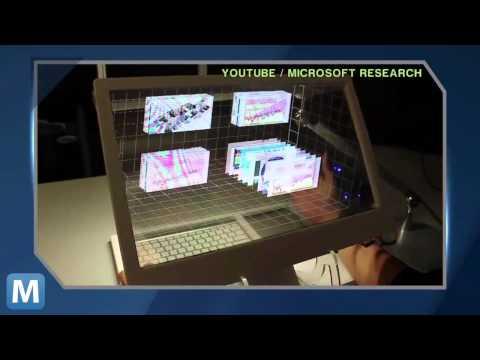 新型3D手控桌上型電腦螢幕