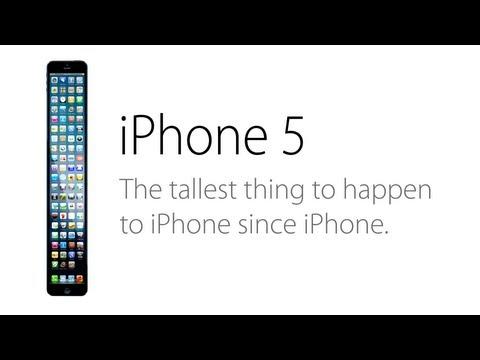 iPhone 5惡搞影片:最長的iPhone