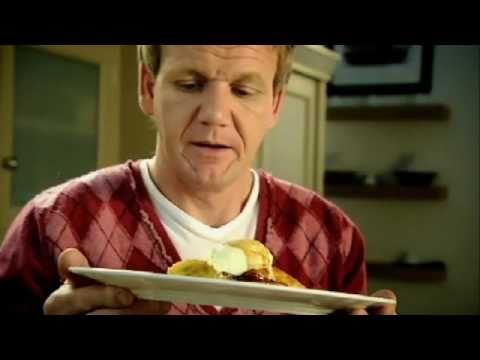 Gordon Ramsay:蘇格蘭鬆餅搭配焦糖香蕉