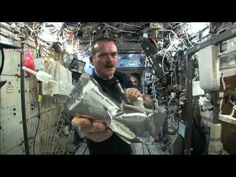 國際太空站的扭毛巾實驗