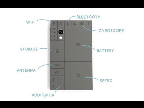 DIY積木手機