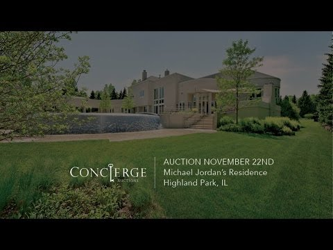 「空中飛人Michael Jordan豪宅大直擊」- Michael Jordan's Residence Auction