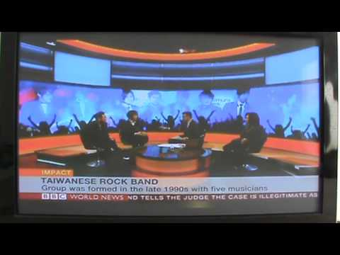 「亞洲天團五月天登上BBC專訪」- Taiwanese Rock Band Mayday on BBC News