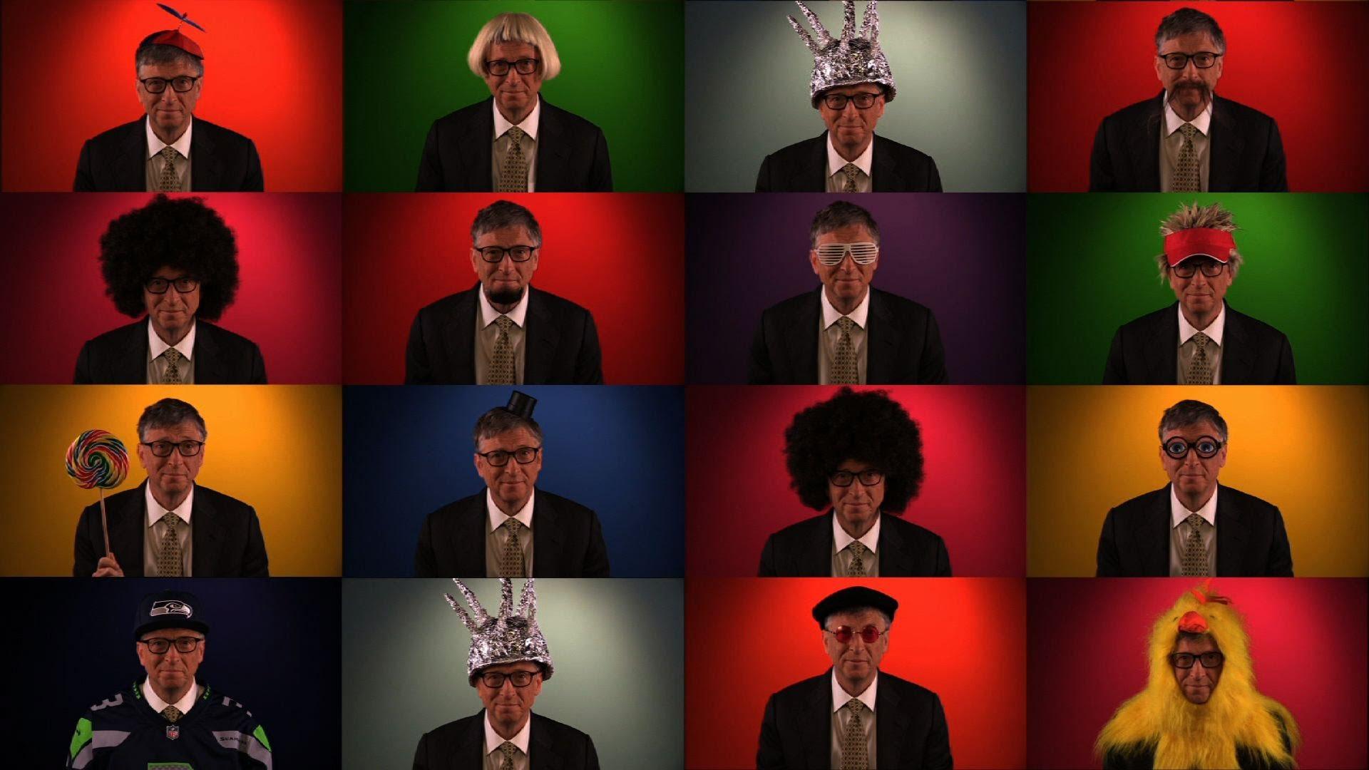 「比爾蓋茲kuso宣傳慈善網站」- Bill Gates' Viral Video: GatesLetter.com