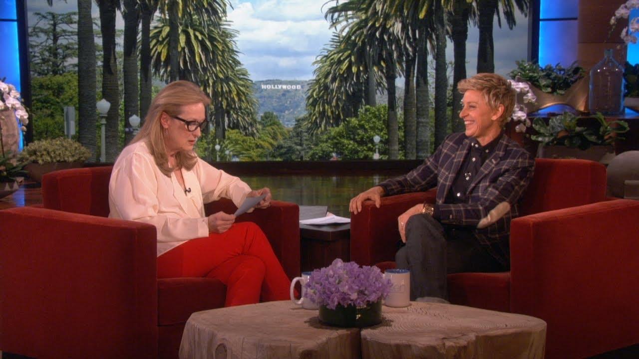 「梅莉史翠普大秀影后實力」- Meryl Streep Makes Everything Sound More Interesting