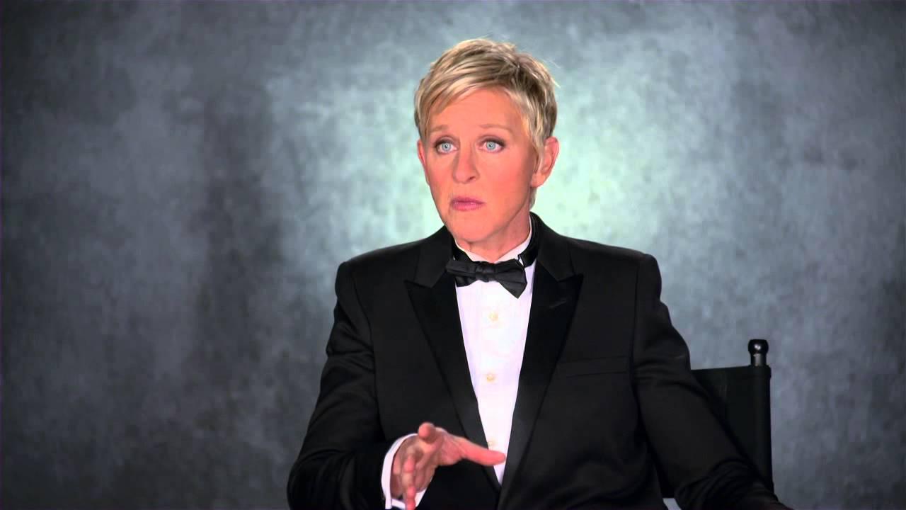 「奧斯卡主持人Ellen DeGeneres趣味訪談」- Ellen DeGeneres talks Oscars and hosting