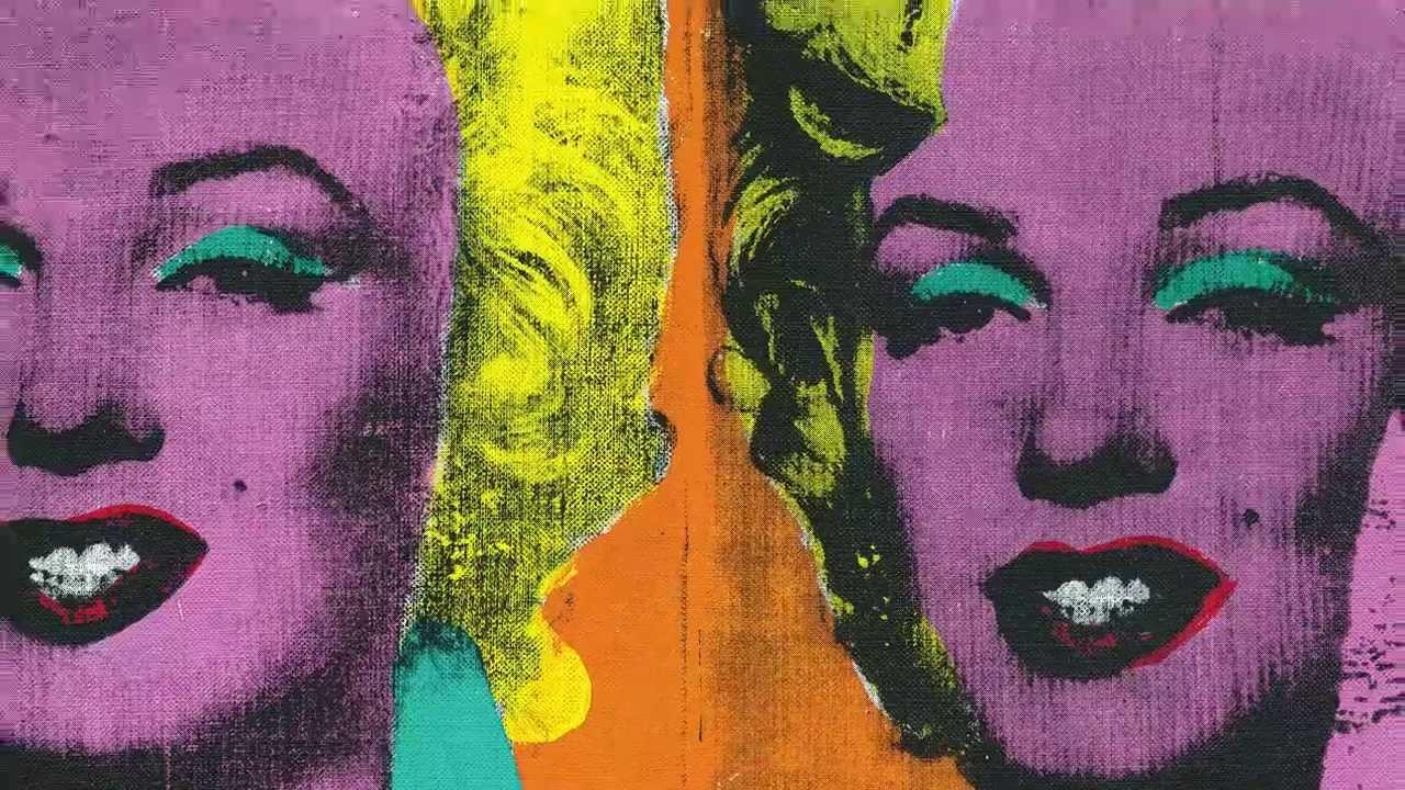 安迪沃荷:〈四個瑪麗蓮〉