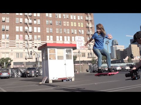 《回到未來》的懸浮滑板真的出現了!