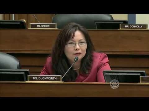 美國霸氣女議員質詢不肖商人