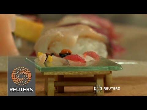 怎麼吃得飽?一粒米做的迷你壽司