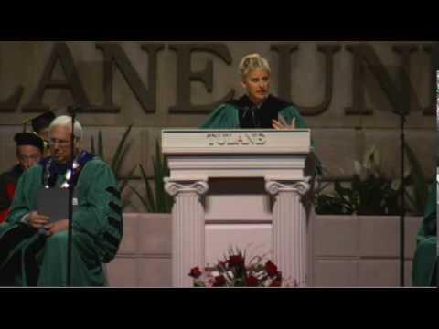 「奧斯卡主持人Ellen的幽默畢業演說」- Ellen DeGeneres at Tulane's 2009 Commencement Speech