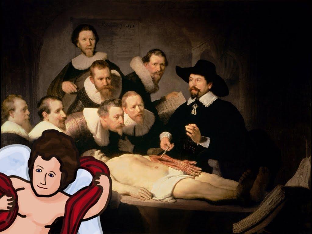 林布蘭:〈尼古拉斯·杜爾博士的解剖學課〉