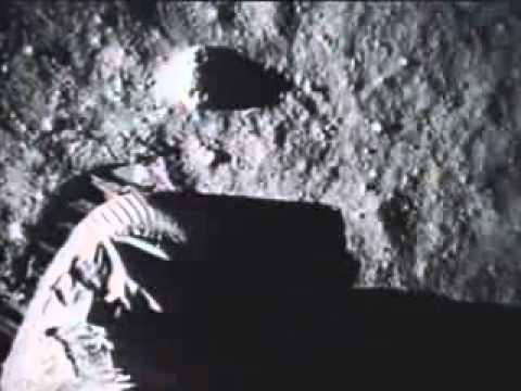 直擊月球登陸現場