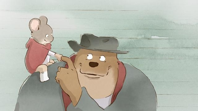 熊熊遇見小小鼠