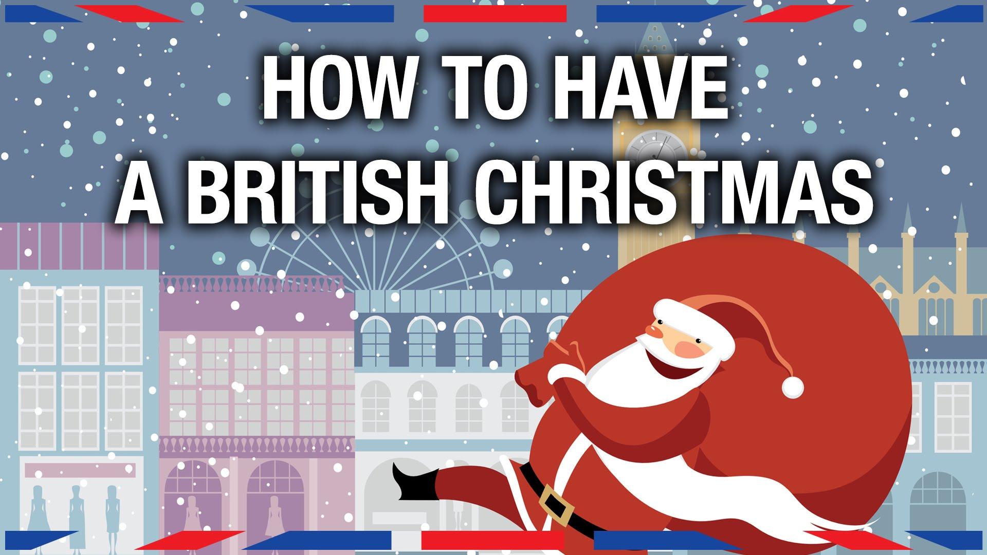 一起過個英式聖誕!