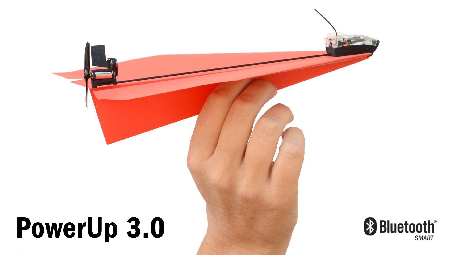 不用裝電池!我的遙控『紙』飛機