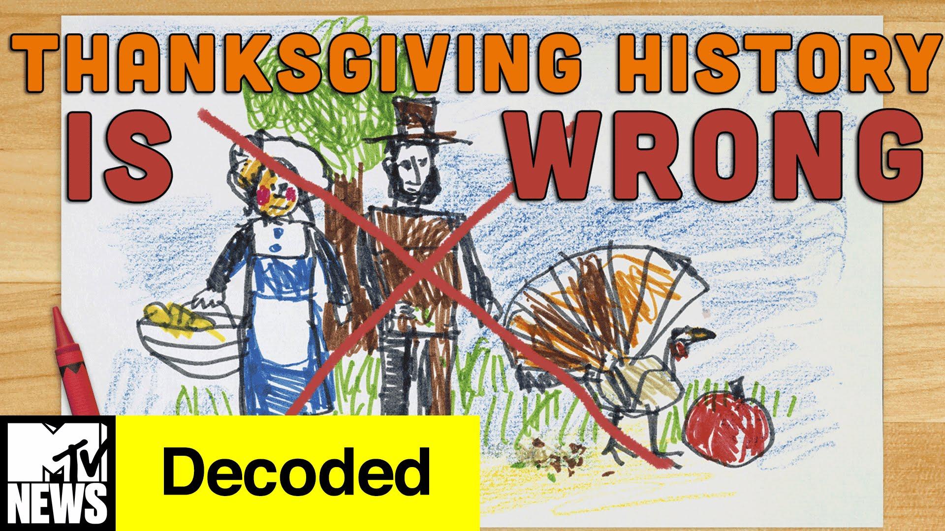「感恩節其實是個血腥節日?!」- Everything You Know about Thanksgiving is WRONG