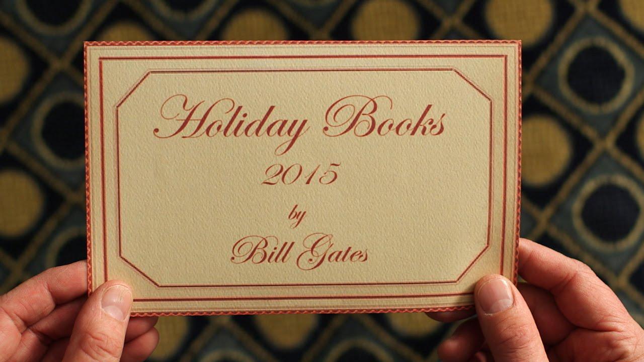 比爾蓋茲的歲末推薦書單