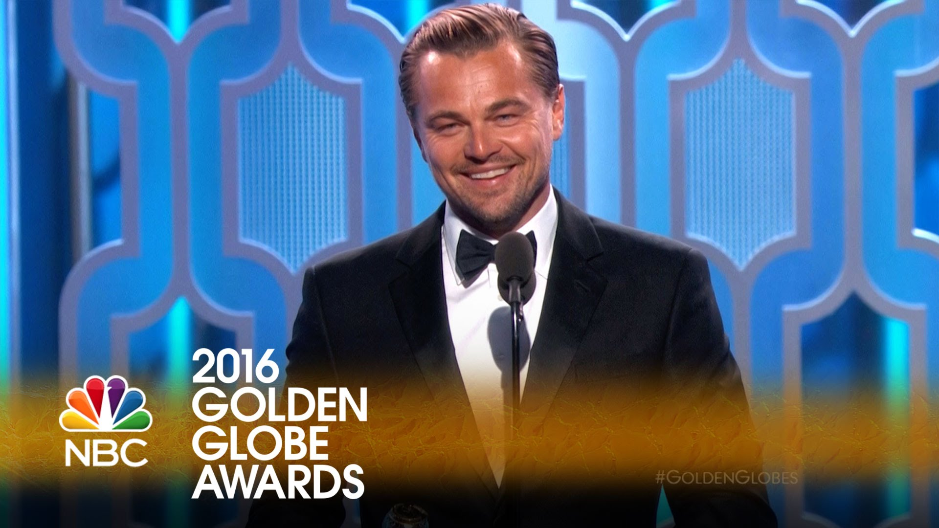 「《神鬼獵人》最大贏家!李奧納多 2016 金球獎得獎感言」- Leonardo DiCaprio Wins Best Actor in a Drama at the 2016 Golden Globes