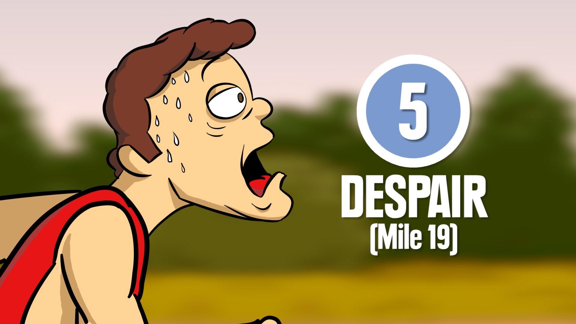 跑馬拉松必經的八個階段,你一定感同身受!