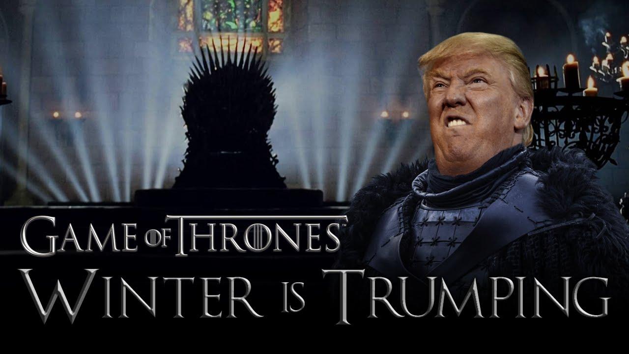 川普不選總統跑去演《權力遊戲》了?!