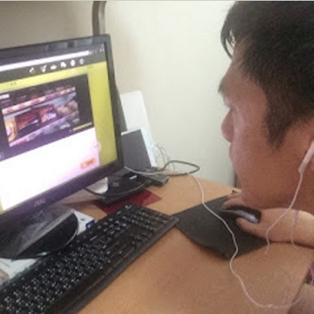 葉先生 - 現在看外國電影時,已經可以開始聽得懂了!