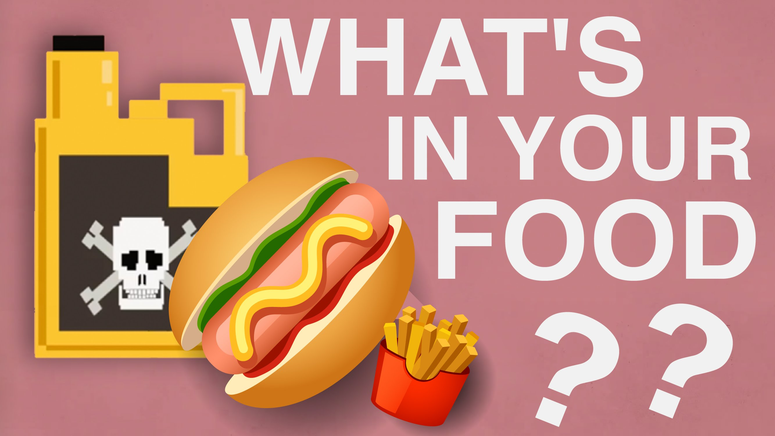 我們吃的食物裡...到底有什麼?