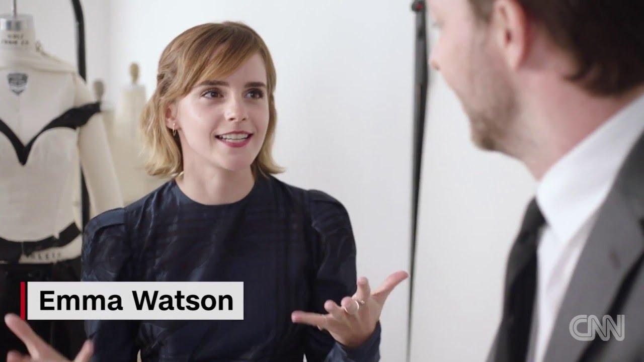 「Emma Watson 的綠色時尚新態度」- Emma Watson Dons Dress Made of This