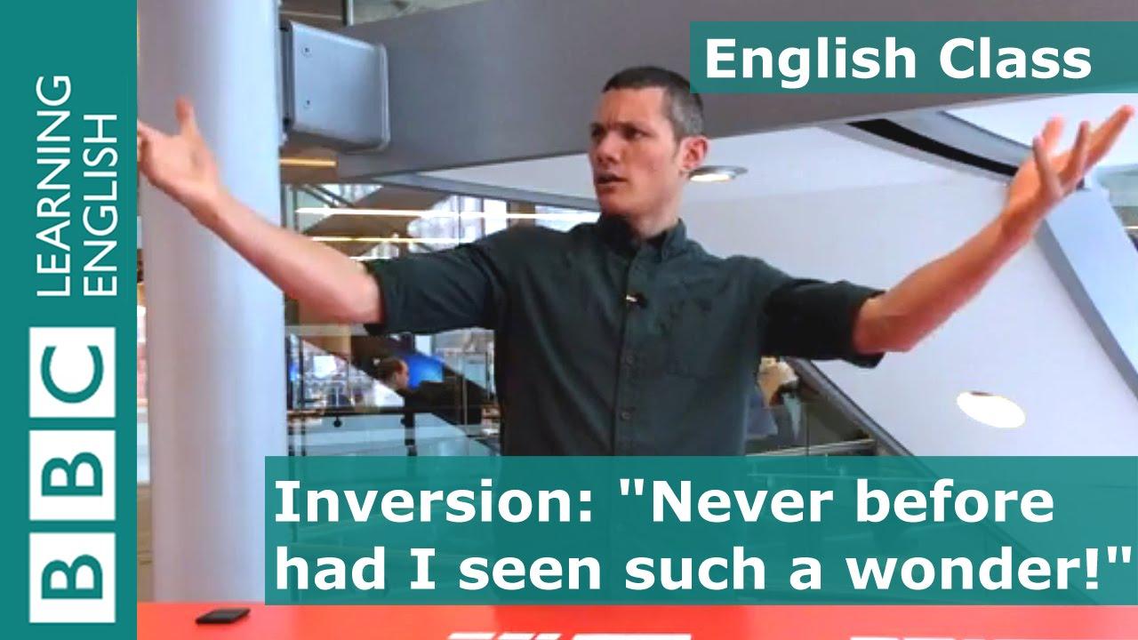 90 秒學會英文倒裝句怎麼用